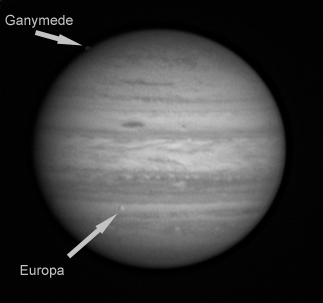Jupiter 14-01-2012 with Ganymede en Europa