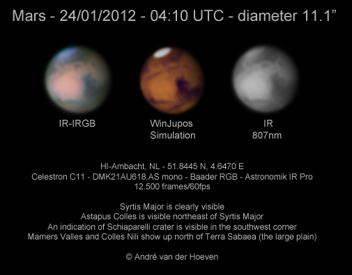 Mars 24/01/2012 IR-IRGB