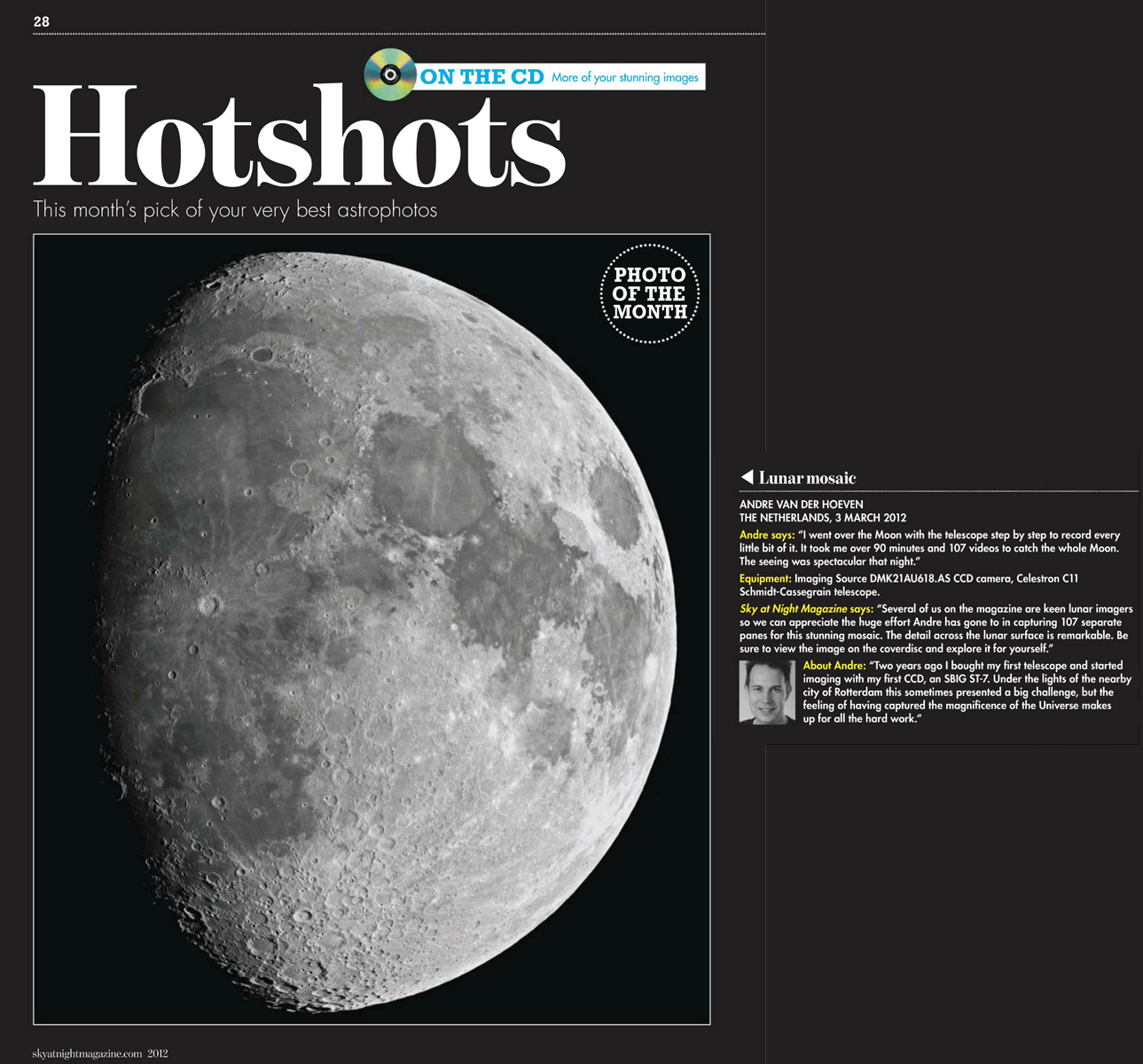 Hotshot of the Month - BBC Sky at night July 2012