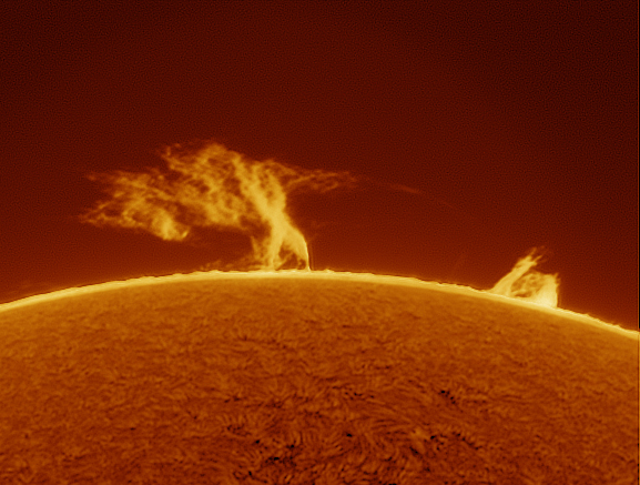Prominence 30-06-2012