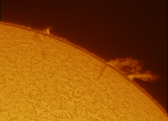 Prominence 01-07-2012