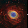 M57: A new view from three telescopes