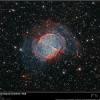 M27 Dumbbell Nebula including its halo