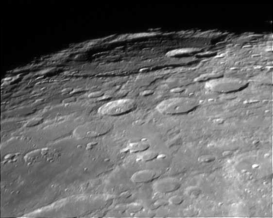 Baily crater
