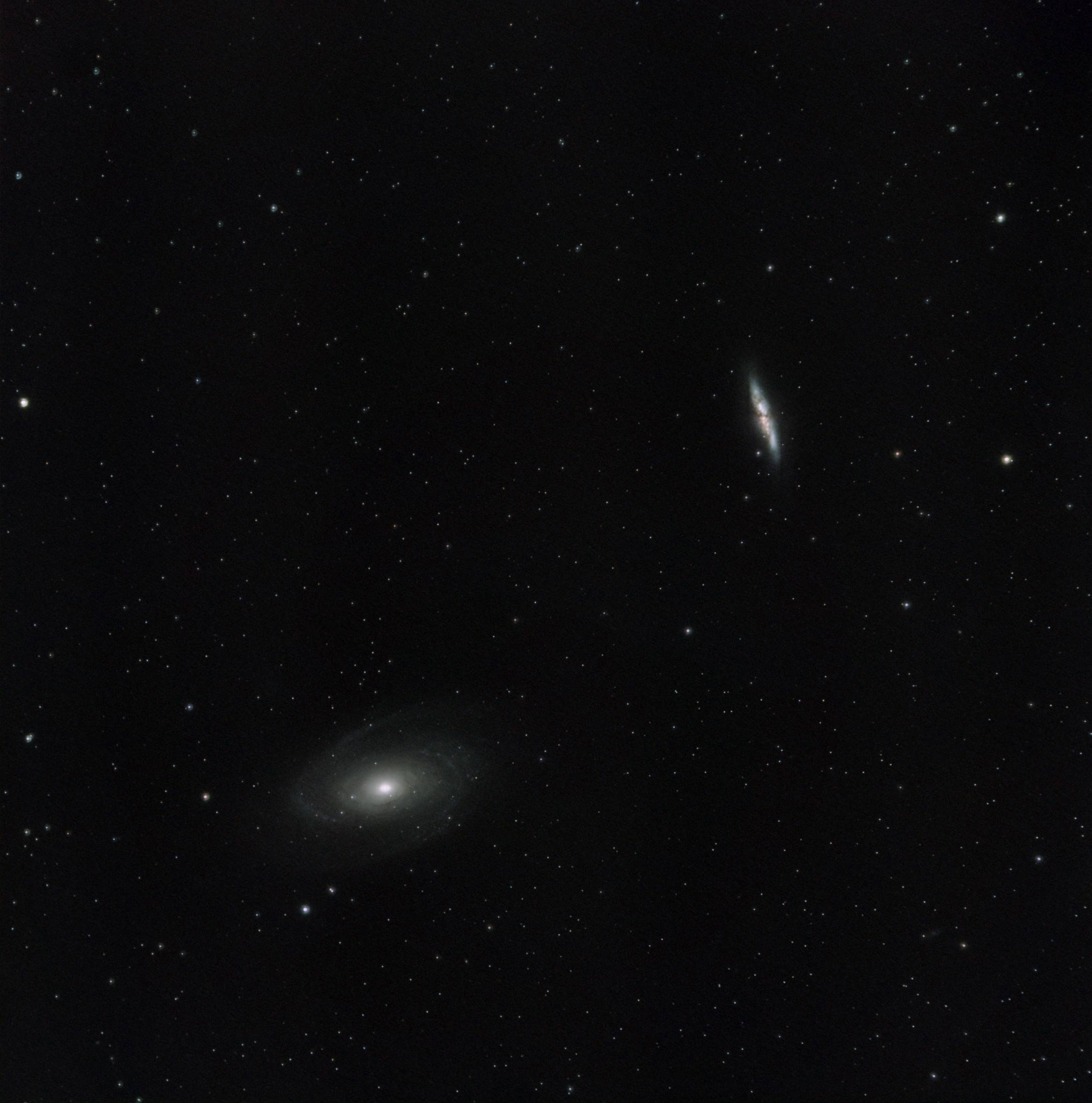 M81 and M82 Widefield