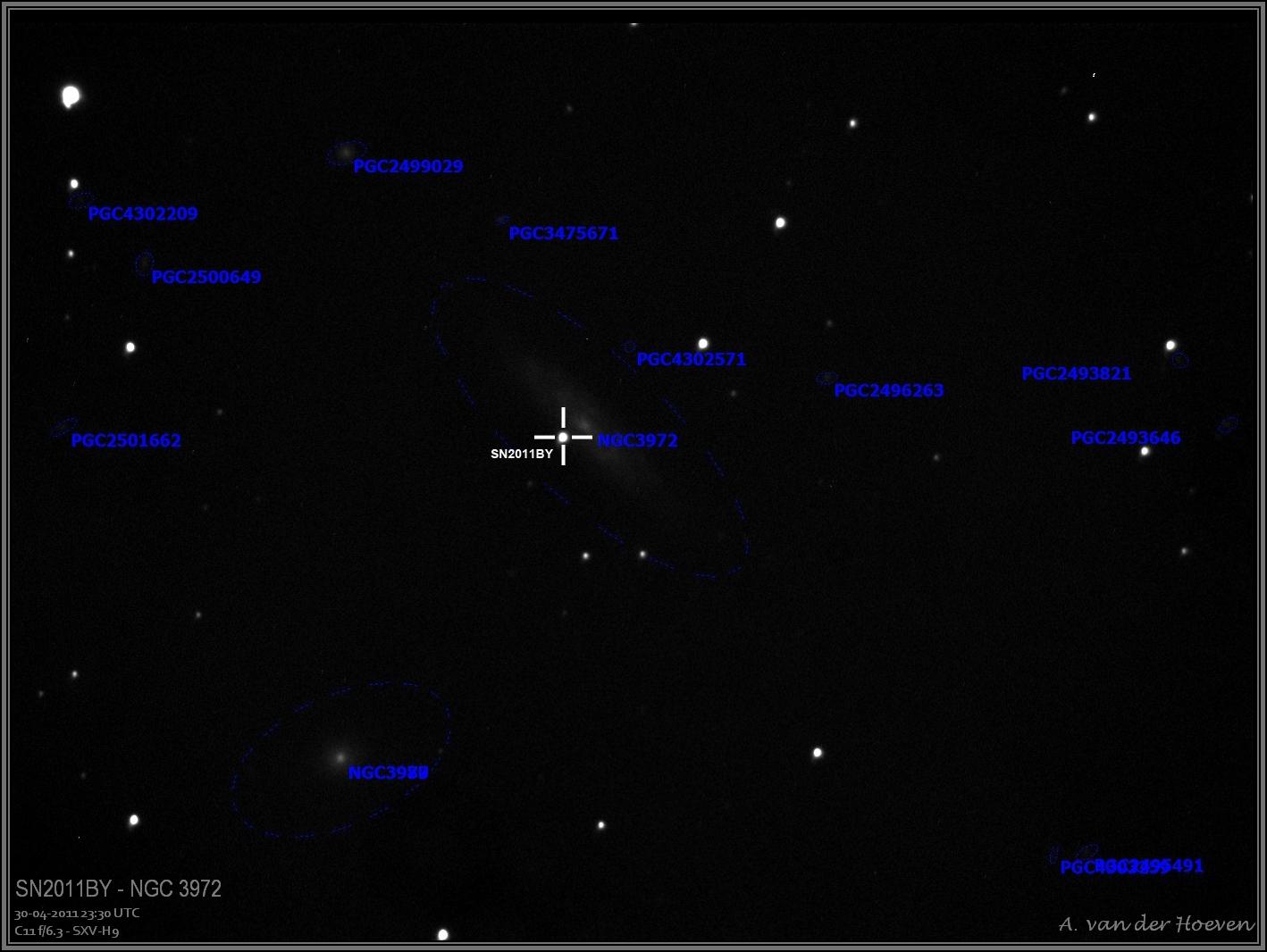 Supernova SN2011BY