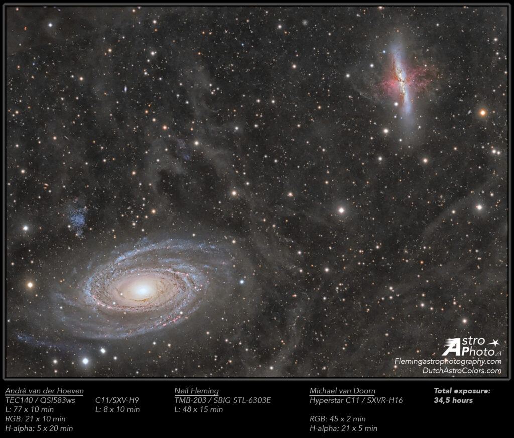 M81-M82-SN2014J_AvdHoeven_NFleming_MvanDoorn highres-v2-stretched-annotated
