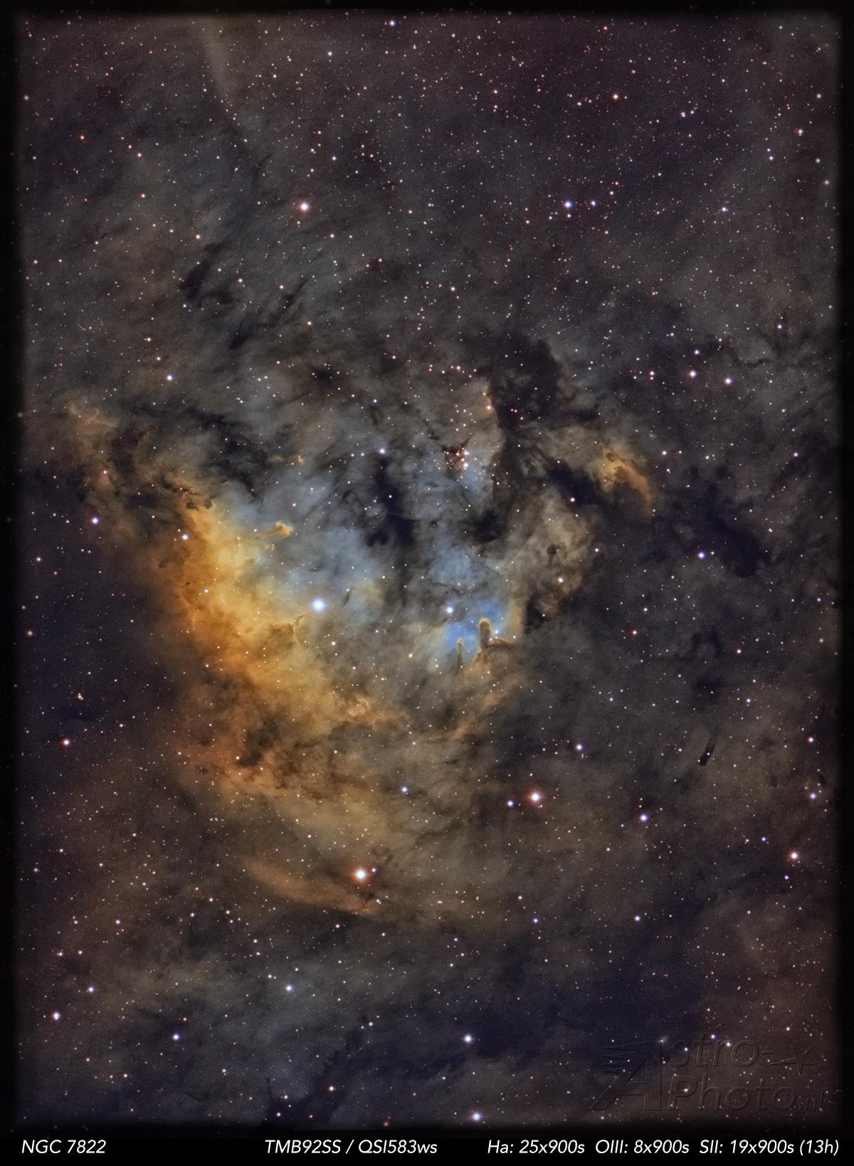 NGC 7822 / Cederblad 214
